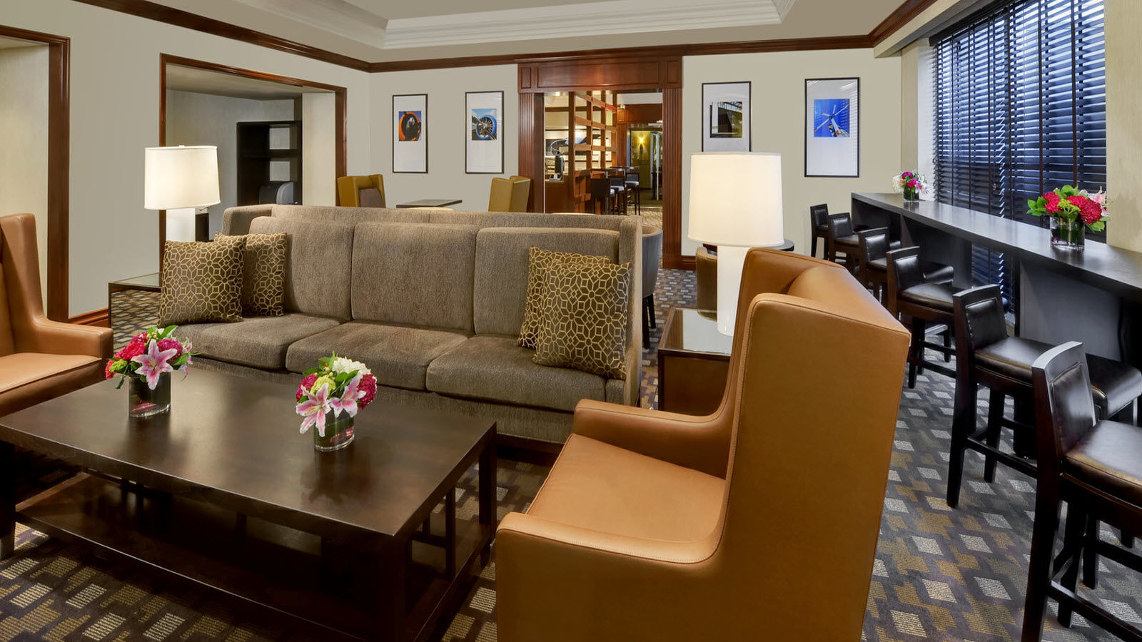 Sheraton Club Guest Rooms and Suites